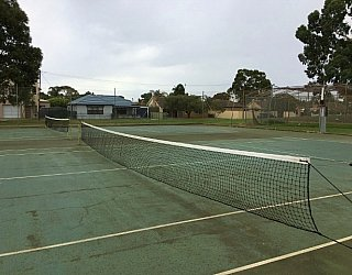 Mitchell Park Oval Tennis 1
