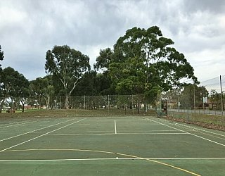 Mitchell Park Oval Tennis 2
