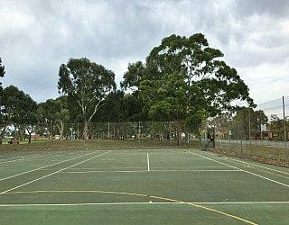 Mitchell Park Oval Tennis 2
