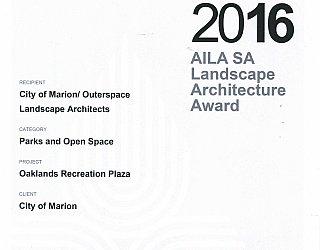 Oaklands Reserve | Oaklands Recreation Plaza | 2016 AILA Award | Parks And Open Space