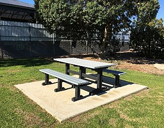 Oakvale Road Reserve Picnic Table