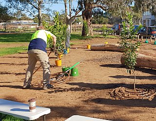 Parsons Grove Reserve Community Planting Day 1