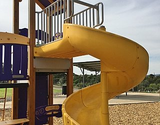 Reserve Street Reserve Playground Multistation Slide 2