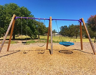 Reserve Street Reserve Playground Swings 1