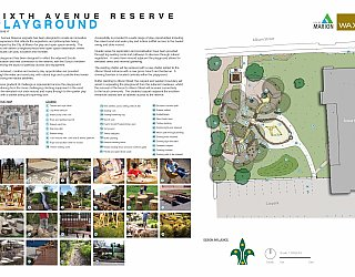 Sixth Avenue Reserve Ascot Park Design