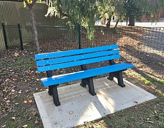 Stanley Street Reserve Seating 3