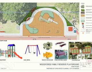 Woodforde Family Reserve Playground Concept