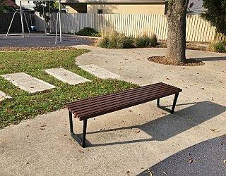 Yapinga Street Reserve Seating 1