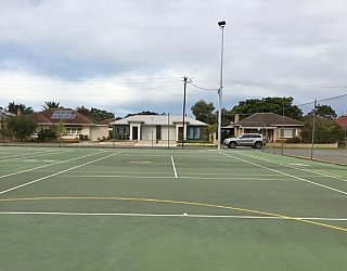 York Avenue Reserve Netball Tennis Courts 4