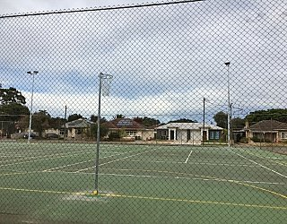 York Avenue Reserve Netball Tennis Courts 5