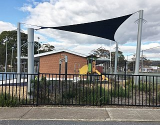 York Avenue Reserve Shade Sail 1