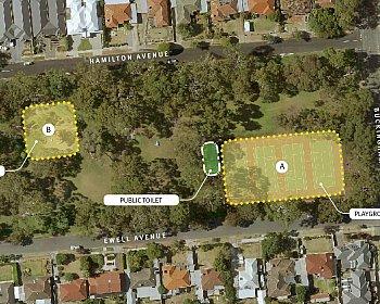 Hamilton Park Reserve Playground Location Options October 2018 16X9