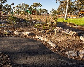 Hendrie Street Reserve Playground Bike Track 1