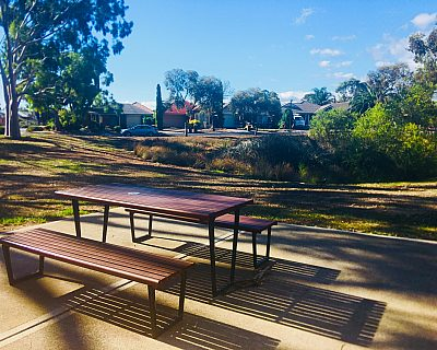 Tonsley Reserve Picnic Table
