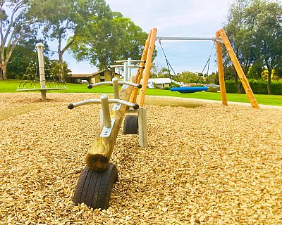 Clare Avenue Reserve Seesaw Basket Swing Rotanet 2