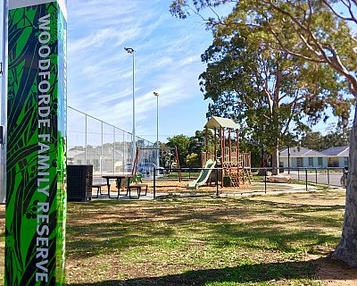 Woodforde Family Reserve Playground Sign 1