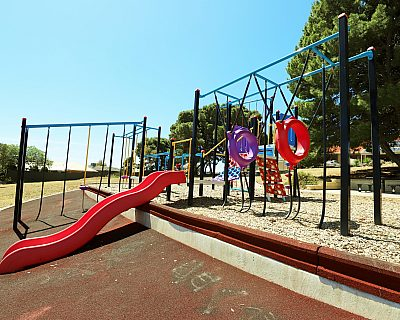 Mema Court Reserve Playground Multistation 3