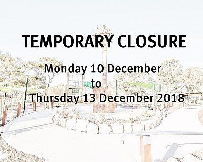 Hendrie Street Reserve Playground Closure 10 12 2018 13 12 2018 8X10