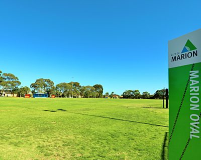 Marion Oval Sign 1