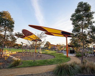 Jervois Street Reserve Senior Playground New Butterflies 2