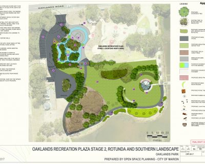 Oaklands Recreation Plaza Oaklands Park Design