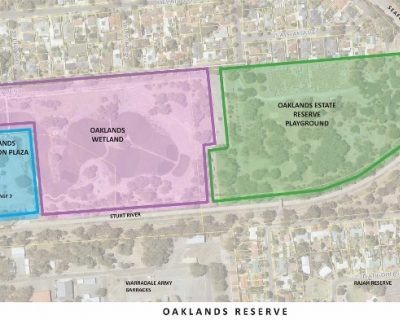 Oaklands Reserve Site Plan 2