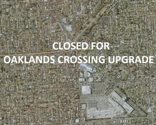 Dwyer Road Reserve Closed For Oaklands Crossing Upgrade
