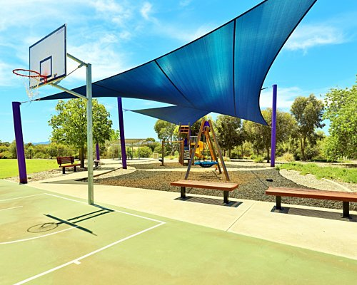 Reserve Street Reserve Playground Shade Basketball 3