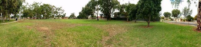 Sandery Avenue Reserve Panorama
