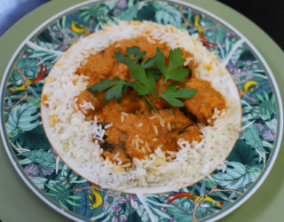 Positive ageing and inclusion meal butter chicken