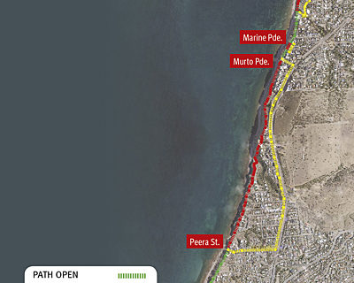 Coastal Walkway Map