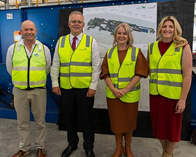 Pm scott morrison visits srwra