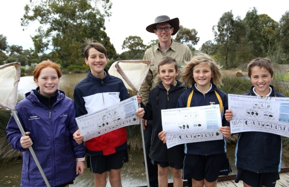 Green Adelaide Education with Immanuel PS students