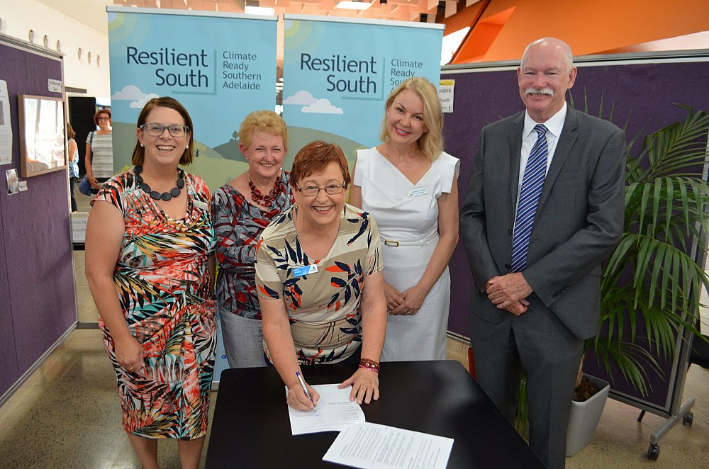 Resilient South Sector Agreement Signing