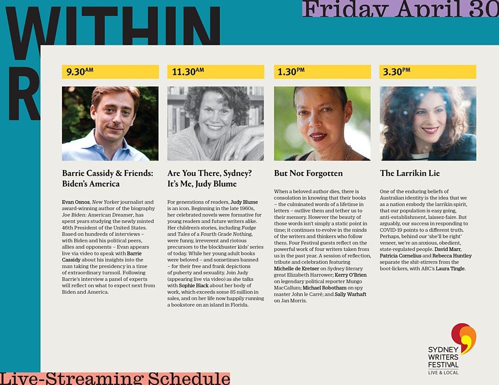 SWF Schedule Friday