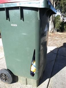 Damaged Bin Example 2