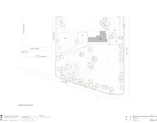 0909 089 PA01 Site Plan Existing Conditions