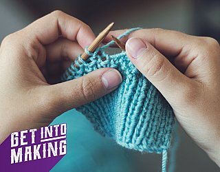 Get Into Making Knitting