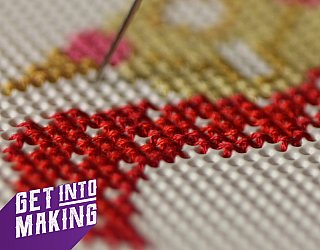 Get Into Making Cross Stitch