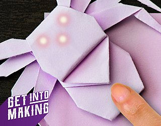 Get Into Making Paper Circuits
