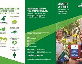 Adopt A Tree Brochure