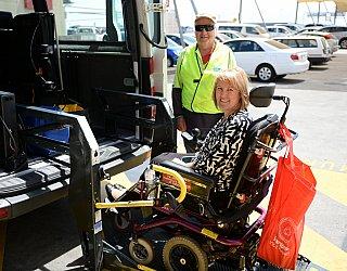 Community Care Community Bus Sue Nash