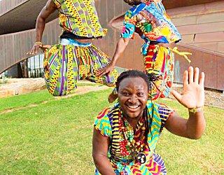 African dancers jump MC19