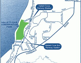 Hallett Cove Conservation Park Map