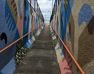 Ascot Park Railway Station Mural2