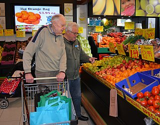 Community Care Shopping Donald Thurlow