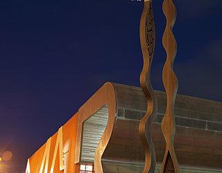 Cultural Centre Sculpture