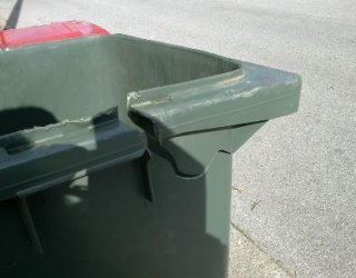 Damaged Bin Example 1