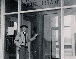 George Pitman Opening Day 7 Feb 1959