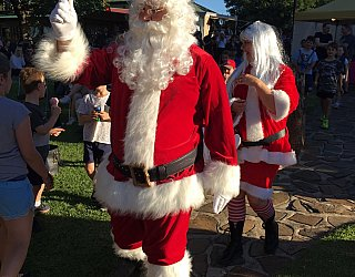 Glandore Carols In The Park Mr And Mrs Claus 2017 Straight